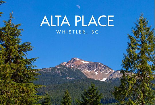 1518 ALTA PLACE Whistler BC Canada