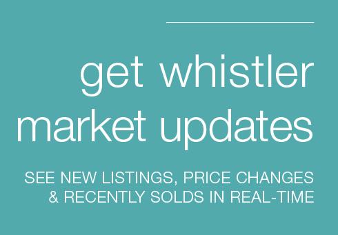 Get Whistler Market Updates